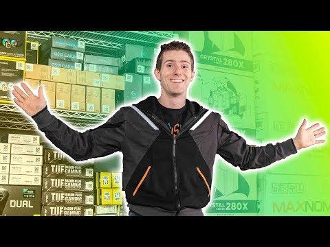 LIVE BUILDING 10 Gaming PCs!