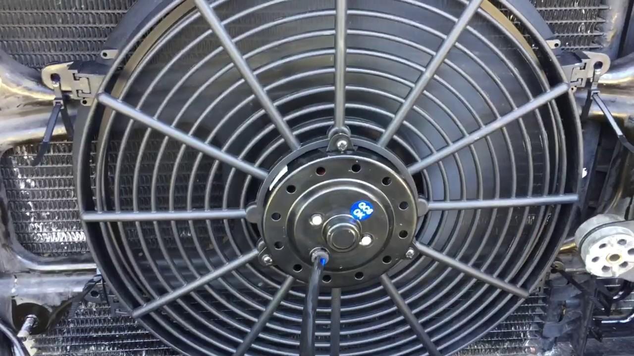 e39 universal electric fan (temp fix)