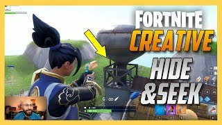 Fortnite Creative Hide and Seek on STAND OFF from Call of Duty! | Swiftor