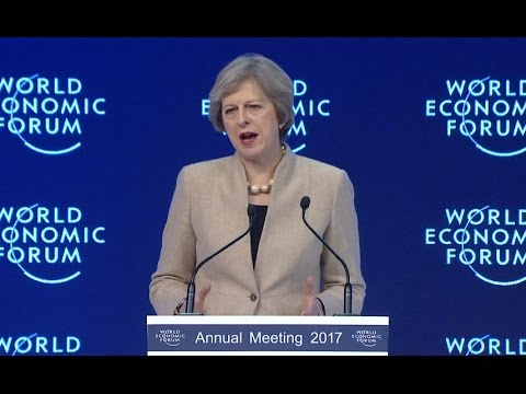 Britain to Fight for Globalization: PM May
