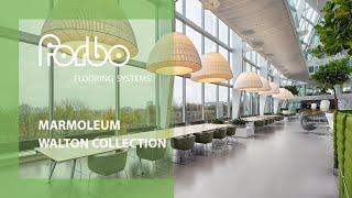 Forbo Flooring Systems Marmoleum Walton linoleum solid collection