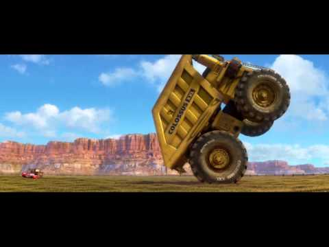 Cars2 Mcqueen, Tow Mater And Colossus XXL