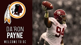 Da'Ron Payne Alabama Highlights | Welcome to DC