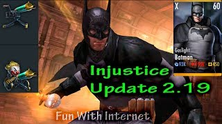 Injustice: Gods Among Us Update 2.19 Unreleased Characters & Gears iOS/Android