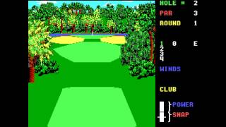 World Class Leader Board, Access Software, 1989 (Locked demo, Realsound)