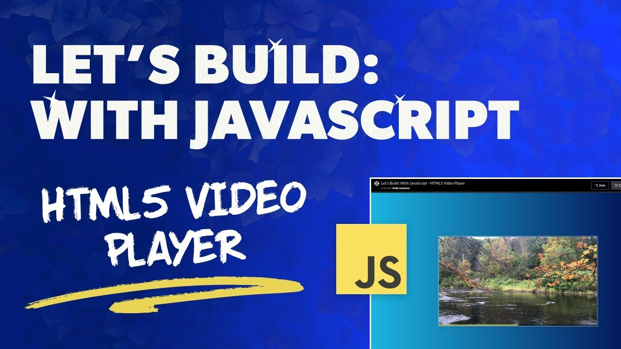 Let's Build: With JavaScript - HTML5 Video Player – Web-Crunch