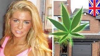 Англичанка вернулась домой из отпуска и обнаружила в гараже заросли марихуаны(Вот эта прекрасная блондинка с белоснежной улыбкой осуждена за выращивание марихуаны. Куда катится мир?..., 2015-09-05T09:10:17.000Z)