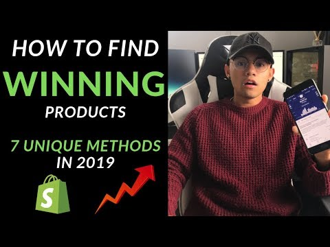 7 Unique Product Research Methods in 2019 | $1,000/Day [Free Winning Products] thumbnail