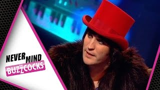 Noel Fielding The Belieber | Never Mind The Buzzcocks Hosted by Josh Groban Series 24 Episode 10