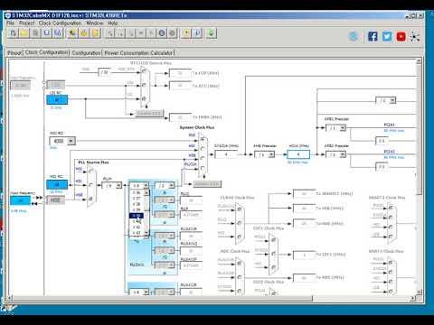 STM32CubeMX Crystal Clock Configuration