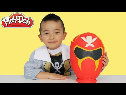 Thumbnail: Play-Doh Surprise Egg Power Rangers Megaforce Super Samurai Blind Bags Toys Unboxing Ckn Toys