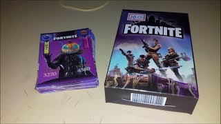 Opening box with 50 Cards of Fortnite!!
