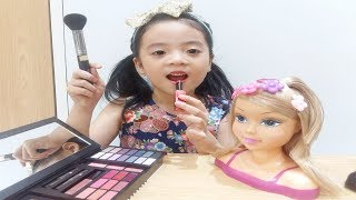 Baixar Pretend Play with makeup & Make up for Baby Doll Toys/ Funny video Compilation