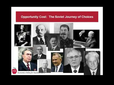 Lecture 1-1: Economics, Choice, and Soviet History (33 minutes)