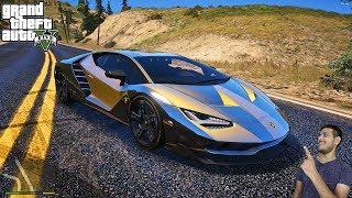 GTA 5 : MY GOLD LAMBORGHINI 😍