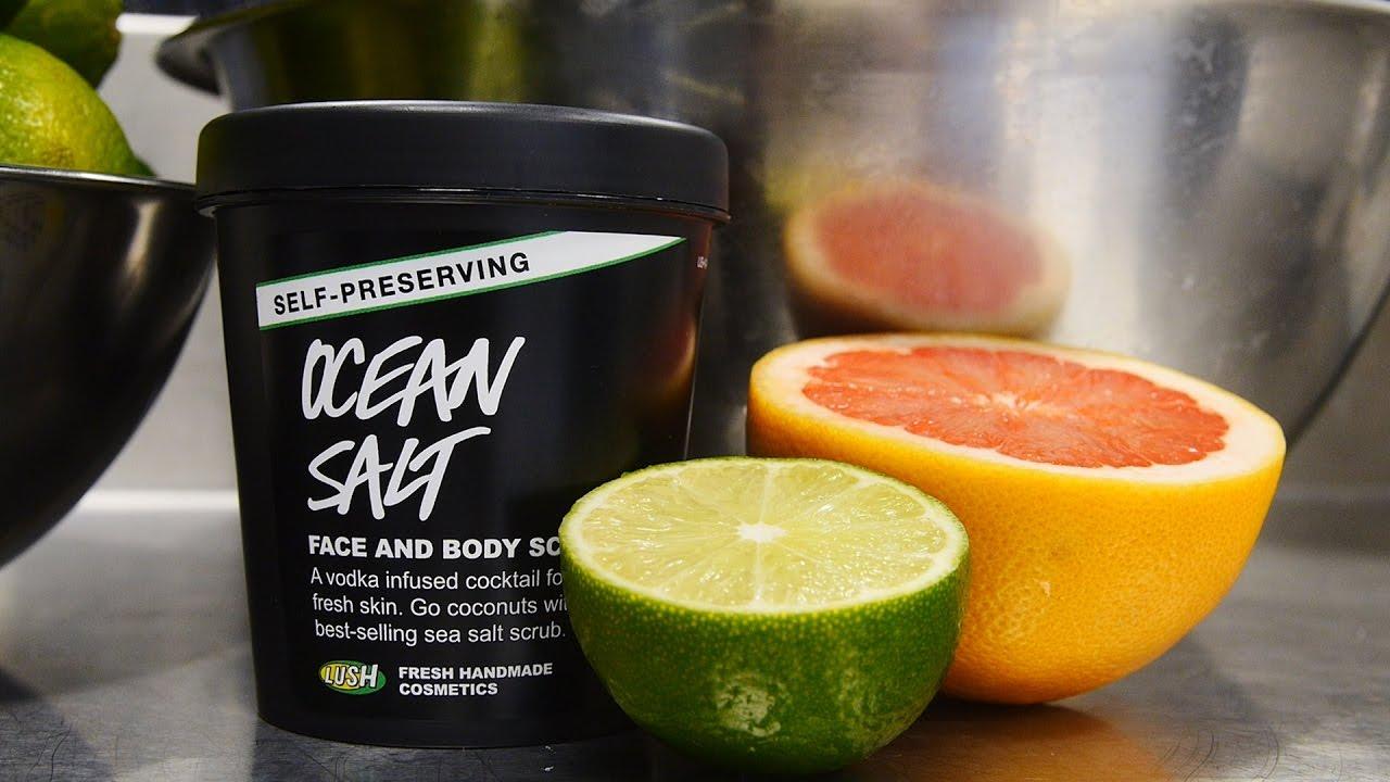 Lush How It's Made: Ocean Salt – Self-preserving