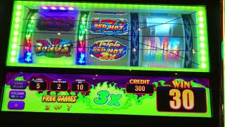 💥Watch This Triple Red Hot Slot Machine Live Play💥