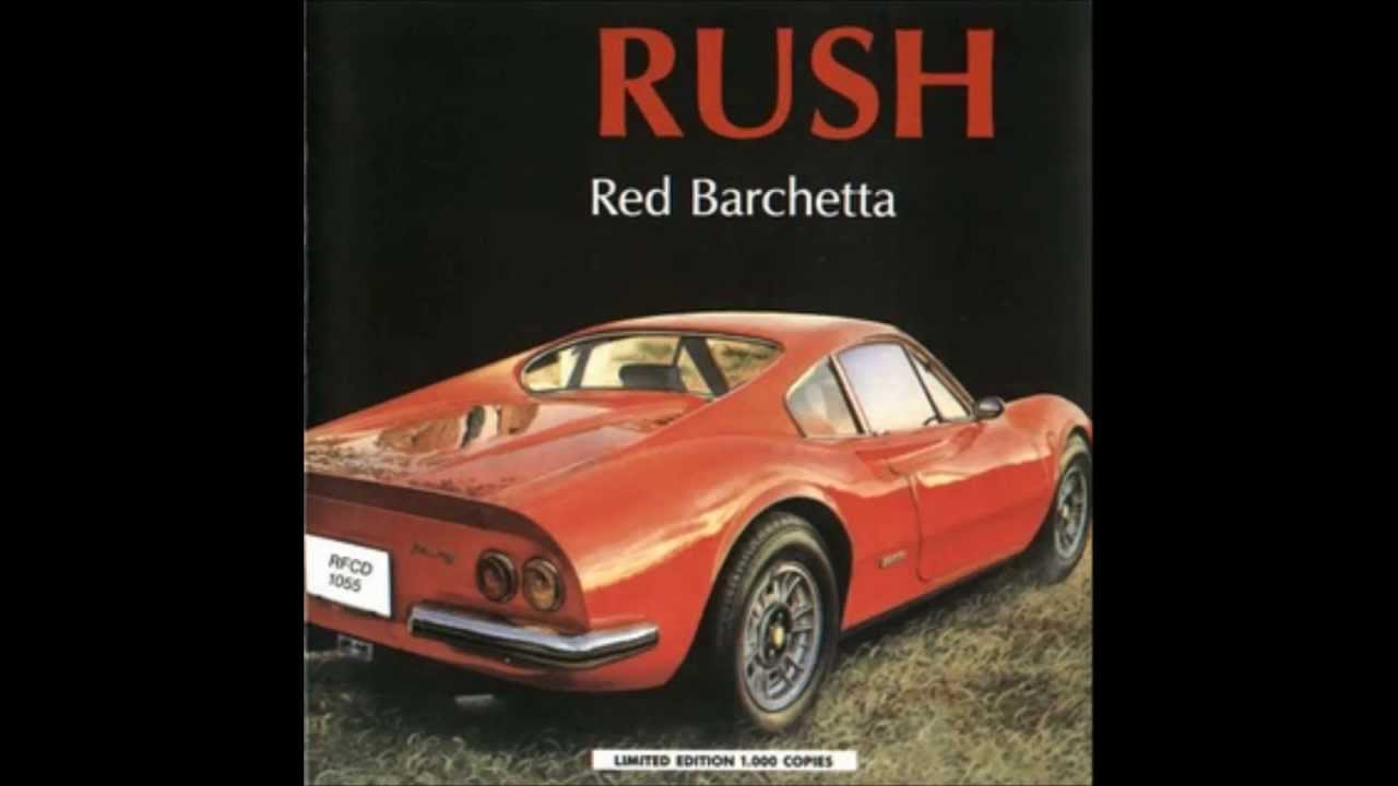 Red Barchetta Rush Cover Youtube
