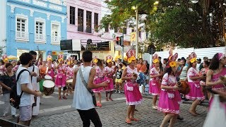 [4K] Ruas de Florianópolis - Mercado Público na sexta de carnaval