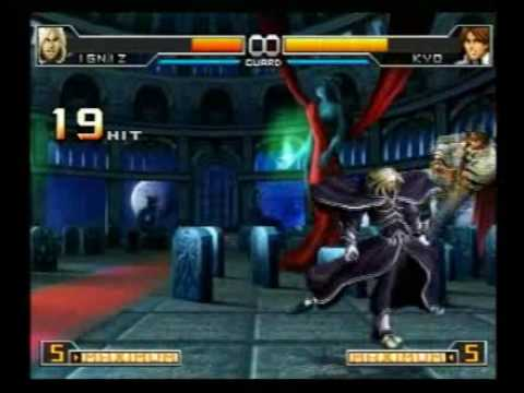 KOF 2002 UNLIMITED MATCH maniac combo (EX & Bosses)