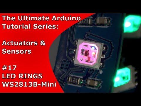 WS2812B and WS2813B-Mini Comparison + LED Ring Tutorial | UATS A&S #17 thumbnail