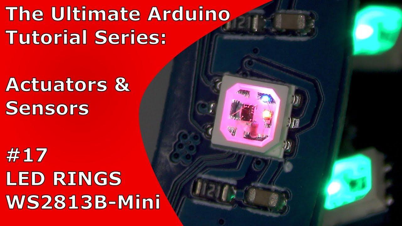 """WS2813 vs  WS2812B + """"WS2813 Mini""""-based RGB LED Ring"""