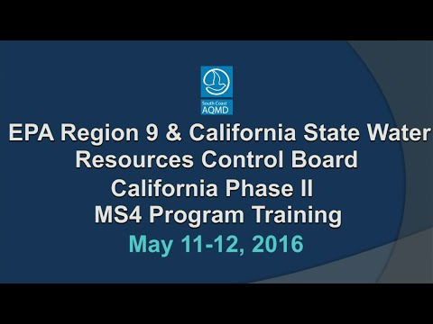 State Water Board Webcast - May 11, 2016