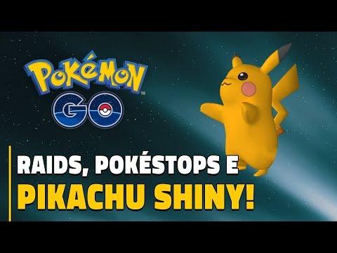 BUGS NAS RAIDS, NOVOS POKÉSTOPS E PIKACHU SHINY! | Pokémon GO