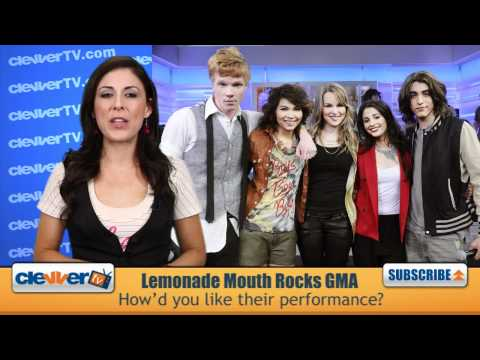 'Lemonade Mouth' Cast Perform On Good Morning America
