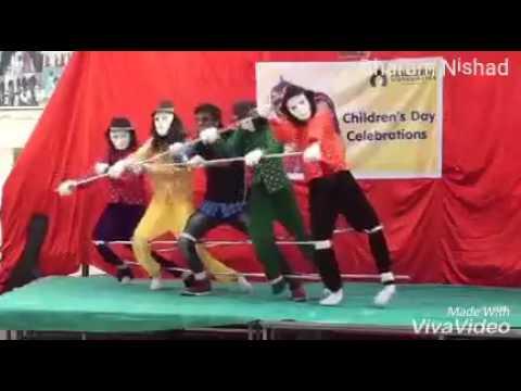 Superb dance on sambalpuri song mahula jhare re barasila pani