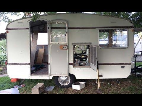 Part 2: Finding Pearl 🚃 - a Vintage 1969 Bailey camper caravan trailer