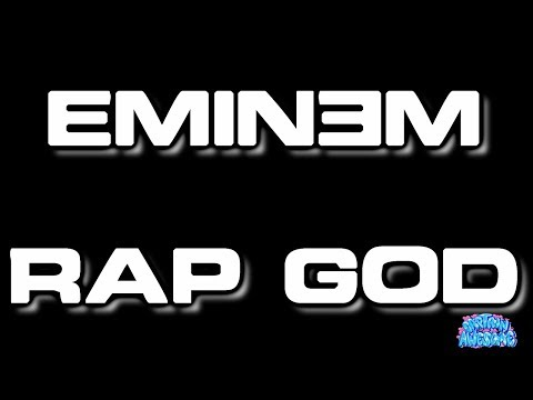 Rap God - Eminem (Karaoke)