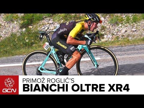 Primož Roglič's Bianchi Oltre XR4