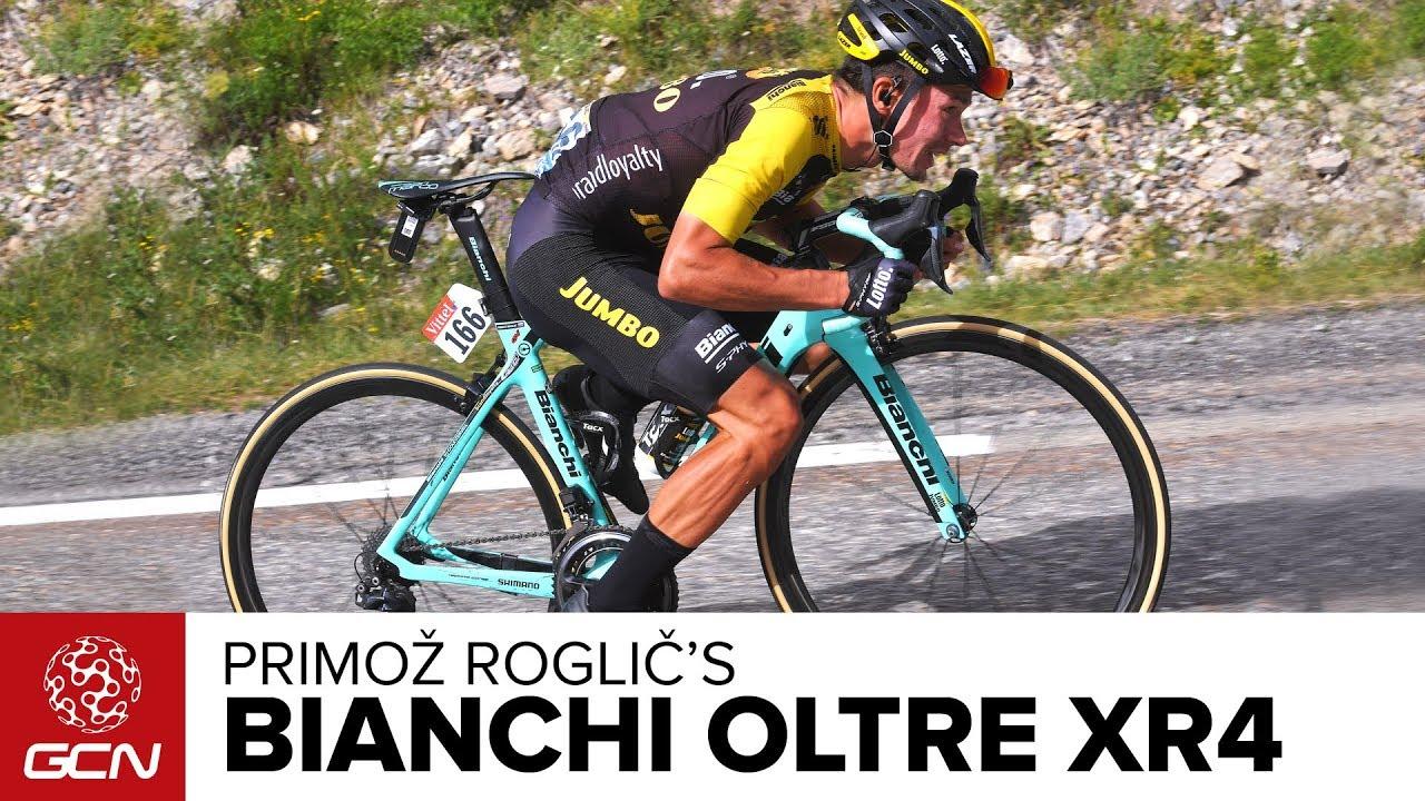 Primoz Roglic S Bianchi Oltre Xr4 Youtube