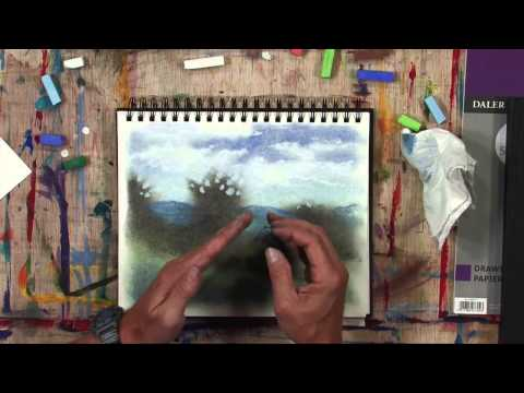 Daler-Rowney - Simply Sketching - How to draw with Soft Pastels