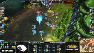 Logitech LoL Showtime - eSuba vs eEriness - map1
