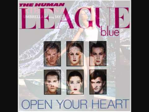 The Human League - Open Your Heart  vs Rihanna -  Umbrella - Mashup mp3