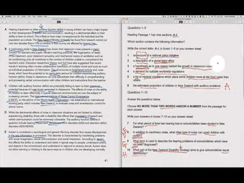 IELTS Book 9, Reading Test #2: Step-by-step answers - YouTube