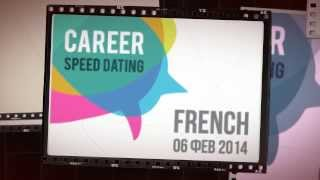 Career Speed Dating # 2 French 6 Feb. 2014