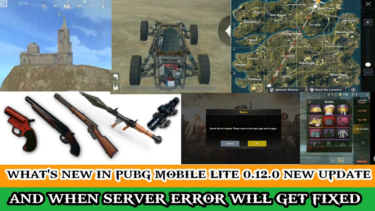 New Things In Pubg Mobile Lite 0.12.0 New Update | When Server Error Will Get Fixed | What's Ne