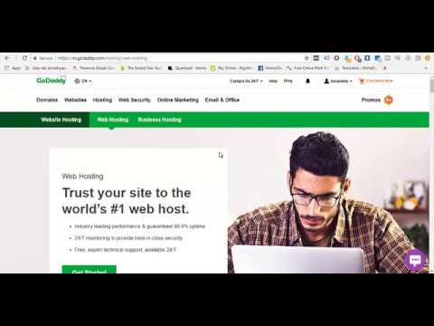 HOW TO LINK A GODADDY DOMAIN NAME WITH HOSTGATOR HOSTING 2018-2019