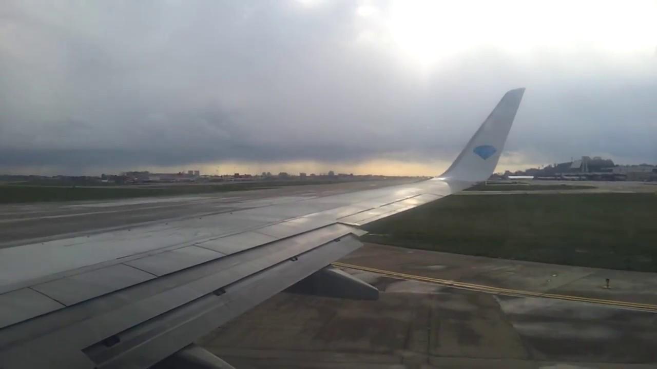 Посадка самолета в аэропорту Адлера (Сочи) 14.06.2016 - YouTube
