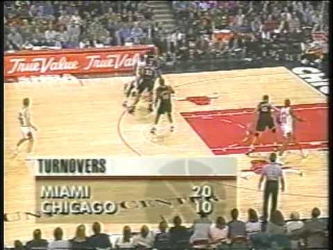Michael Jordan 40 pts vs Miami Heat (1996) poster