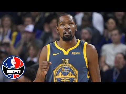 Kevin Durant drops 44, Klay Thompson clutch in Warriors vs. Kings win | NBA Highlights