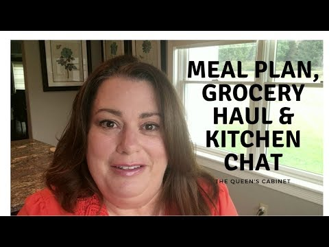 Meal Plan Oct 16 | Weekly Grocery Haul | Kitchen Chat
