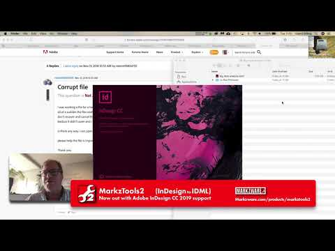 Corrupt File Adobe Forums #InDesign - A Fix