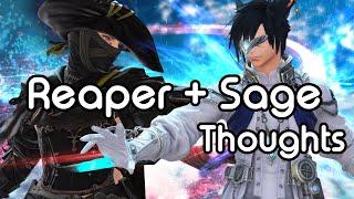 Reaper and Sage Thoughts | FFXIV Endwalker