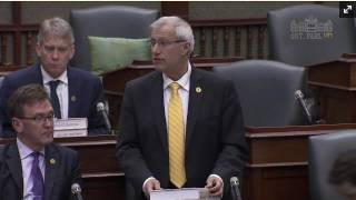 Fedeli Congratulates Canadore College Students