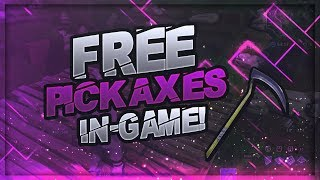 FORTNITE HOW TO GET ANY PICKAXE FOR FREE IN-GAME!