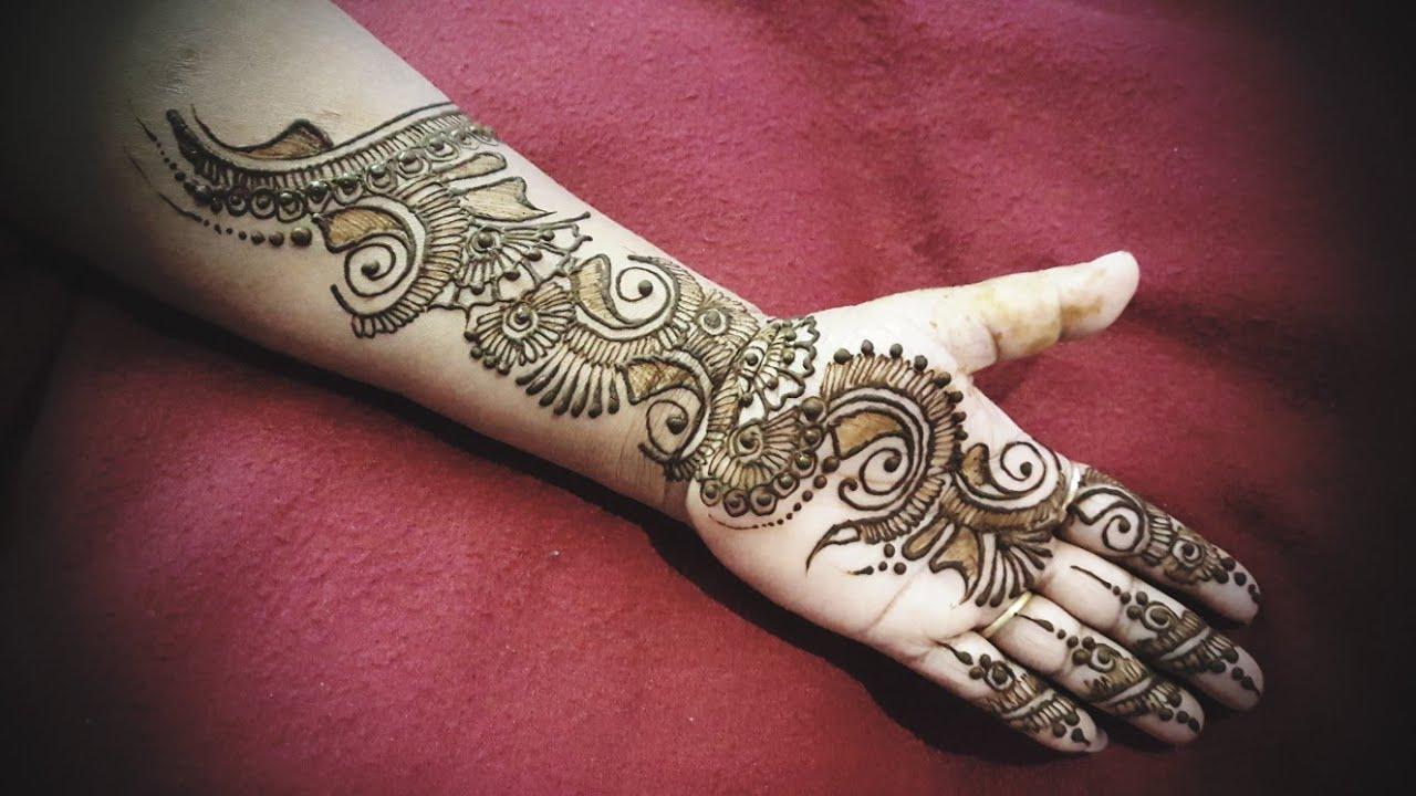 Stylish Unique Mehndi Designs: Latest Stylish Arabic Beautiful Henna Designs For Hands